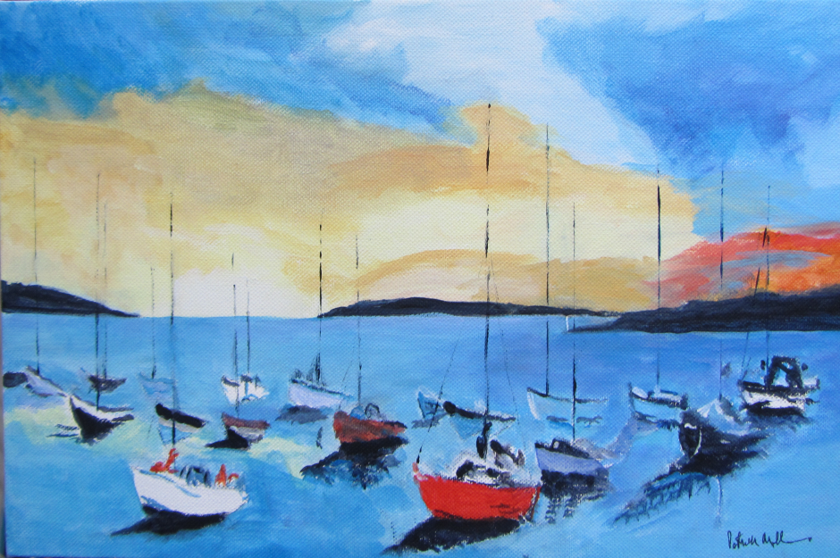 Schull Harbour Sunset